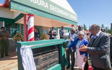 Magura Secondary school Officially opened by the First Lady of the Republic of Kenya Mrs. Margaret Kenyatta