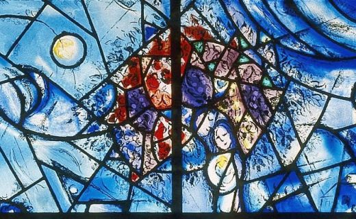 Chagall Peace Window (detail)