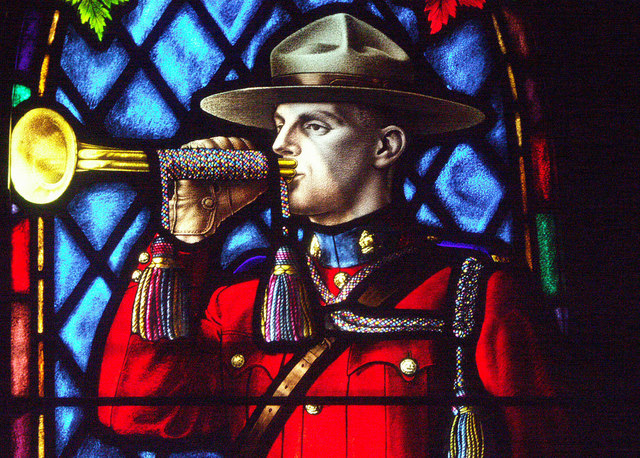 Mournful Mountie Trumpeter