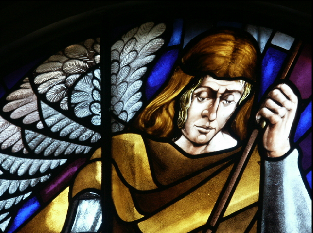 Face of Archangel Michael