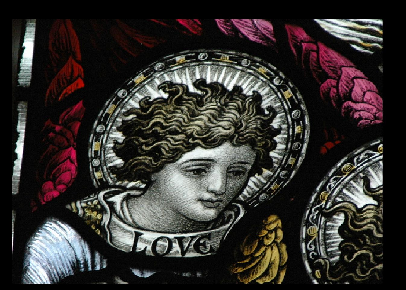 Angel of Love, Anglican Church.